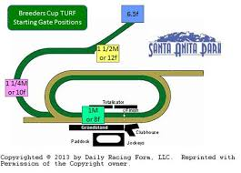 Breeders Cup Charts 2013 Breeders Cup 2014 Navigating The Unique Santa Anita Turf