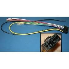 pioneer deh x3710ui wiring harness pioneer image amazon com wire harness for pioneer deh models cde7060 automotive on pioneer deh x3710ui wiring harness