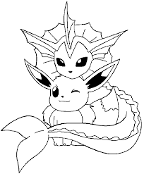 Print Pokemon Coloring Pages Eevee Evolutions Espeon The Art Jinni