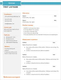 Example Basic Resume Classy 28 Basic Resume Templates PDF DOC PSD Free Premium Templates