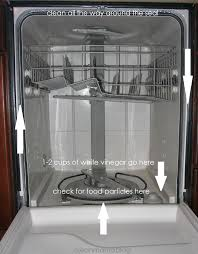 How Do I Clean My Dishwasher Clean Your Oven Microwave Refrigerator And Dishwasher In Less