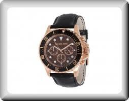 michael kors men s black and rose gold chronograph watch 2 at michael kors men s black and rose gold chronograph watch 2