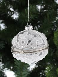 deluxe trinket gl opening bauble christmas tree decoration