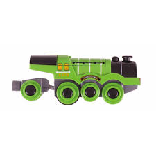 battery operated flying scotsman engine train