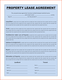 Lease Agreement Template In Word 24 free lease agreement template word Survey Template Words 1