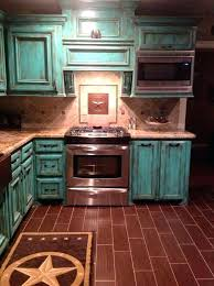 turquoise cabinets kitchen rustic country kitchen designs gorgeous in rustic red painted kitchen cabinets for really