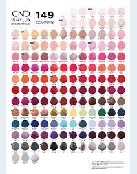 Cnd Colour Chart Cnd Vinylux Weekly Top Coat 15ml Cvt015 Aud10 95