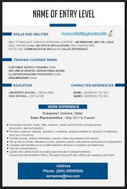 Work Experience Resume Sample Waitress Free Resume Creator