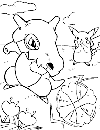 Pokemon Coloring Pages Printable Pikachu Peacereactioncom