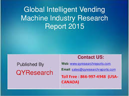 Vending Machine Industry Trends Mesmerizing Global Intelligent Vending Machine Market 48 Industry Size Share