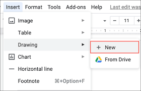 How to draw a dotted line in gimp. How To Embed A Google Drawing Into Google Docs