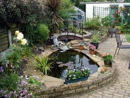 Small Picture Small Backyard Fish Pond Ideas Garden Ponds Design Ideas Small