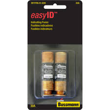 shop fuses at lowes com cooper bussmann 2 pack 30 amp time delay cartridge fuse