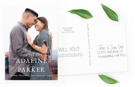 Save The Date For Wedding Personalized Save The Dates Wedding Invites Magnetstreet