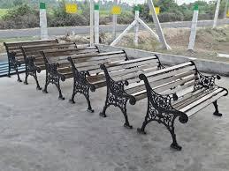 55 000 kgs cast iron garden bench