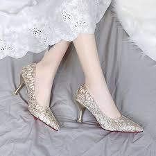 Pointed stiletto high heels <b>2019 new</b> simple <b>elegant</b> womens shoes ...