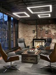 cool office design. Contemporary Modern Cool Office Designs Neutral Furniture Decorating  Designing Custom Pendant Lighting Wall Mount Track GEgg Chair Cool Office Design