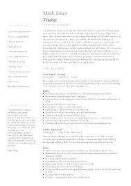 Long Term Substitute Teacher Job Description Free Download Template