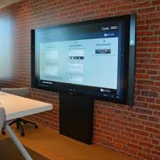 floor wall stand for large touchscreens