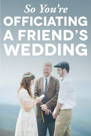 how to bee a wedding officiant in machusetts bee a wedding officiant how to