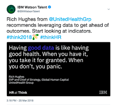 Ibm Quote Fascinating Top HR Takeaways From Think 48 IBM Watson Talent