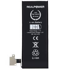 Apple iPhone 4s Batarya Pil 1430mah Realpower Rp-iph4s Apple Realpower