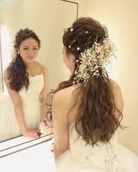 結婚式の花嫁髪型ロングミディアムヘアスタイル画像まとめ