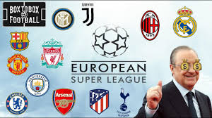 European Super League Confirmed, Is This Good Or Bad for Football - Live  Reaction And Opinions - YouTube