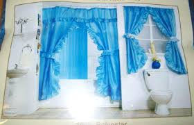 double swag shower curtains best blue double swag fabric shower curtain set with matching window curtain double swag shower curtain attached