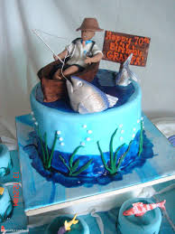 Fishing Cakes For Boys