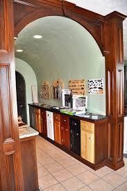 arch doorway cover in wood