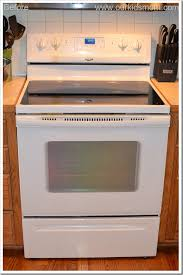 white electric range. It Was Time To Finally Bid Adieu Our White Range And Say Hello An Amana 4.8 Cu. Ft. Self-Cleaning Electric Range. I\u0027m Sure The Delivery Men Thought I
