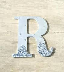 silver wall letters wall letter decoration letter r wall decor silver semi bling sparkle wall letters silver wall letters