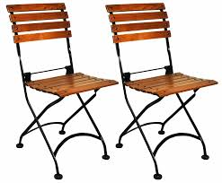 french cafe wood chairs. amazon.com : mobel designhaus french café bistro folding side chair, jet black frame, european chestnut wood slats with walnut stain (pack of 2) dining cafe chairs a
