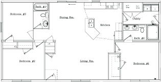 small ranch style home plans ranch style house plans no basement lovely small ranch floor plans