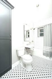 grey hexagon tile bathroom white hexagon tile bathroom grey shower curtain with traditional wall and floor grey hexagon tile bathroom