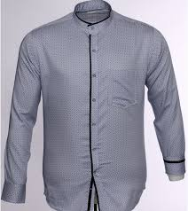 Pattern Shirts Cool S48 Grey Formal Shirt With Micro Dotted Pattern At Rs 48 Piece