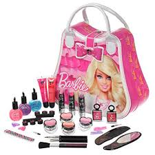 barbie kids cosmetic set makeup barbie makeup children toy gift makeup