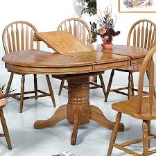 round wood dining table with leaf circle wood dining table full size of table pedestal dining