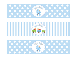 Free Printable Water Bottle Labels For Baby Shower Images  Baby Baby Boy Shower Water Bottle Labels
