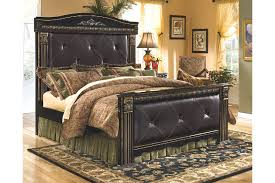 Coal Creek Queen Mansion Bed | Ashley HomeStore