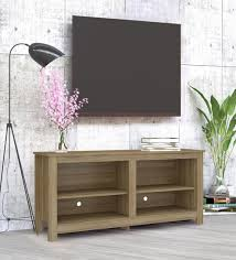 Tv Stand Size Chart Ayame Tv Unit In Clay Brown Finish By Mintwud