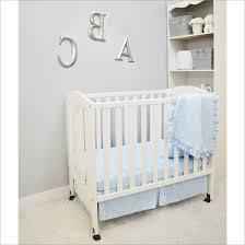 bedding cribs boho crib skirt reversible blueberrie kids synthetic fabric shark owl for girl cupcake baby