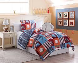 bedding toddler sports theme for boys sets bedstoddler