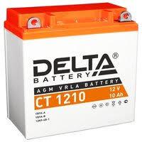 «<b>Аккумуляторная батарея Delta</b> CT 1210 (Мото АКБ ...