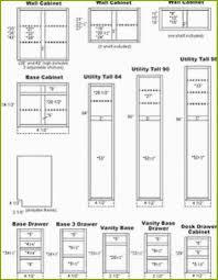 the creative standard kitchen cabinet width trend