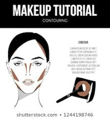 Makeup Face Charts Images Stock Photos Vectors Shutterstock