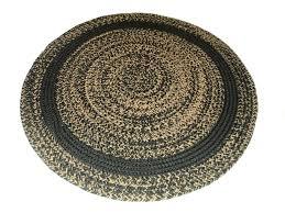 classic round braided rugs