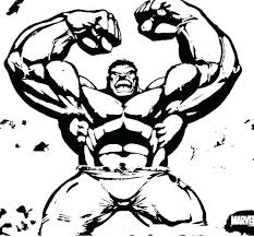 Incredible Hulk Coloring Page Hulk Printable Coloring Pages Free