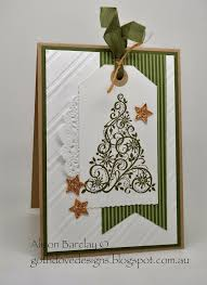 Gothdove Designs - Alison Barclay Stampin' Up!  Australia  Stampin Up  ChristmasChristmas TreesChristmas ...